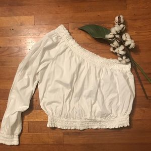 Free People Tops - Free People One shoulder blouse